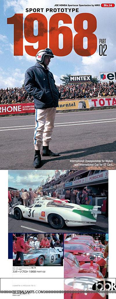 MFH JOE HONDA 1968 SPORTS PredOTYPE PART2 REF PICTURE BOOK fo TAMIYA FUJIMI HIRO