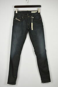 DIESEL GRUPEE SUPER SLIM-SKINNY LOW WAIST SR025 Women's W26/L32 Jeans 34753_GS