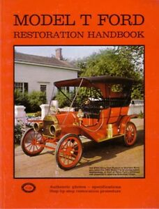 1909 1925 1926 1927 Ford Model T Restoration Book Manual