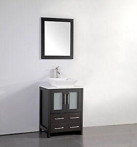 Details About 24 Inch Single Sink Bathroom Vanity Set With Ceramic Top Va3124