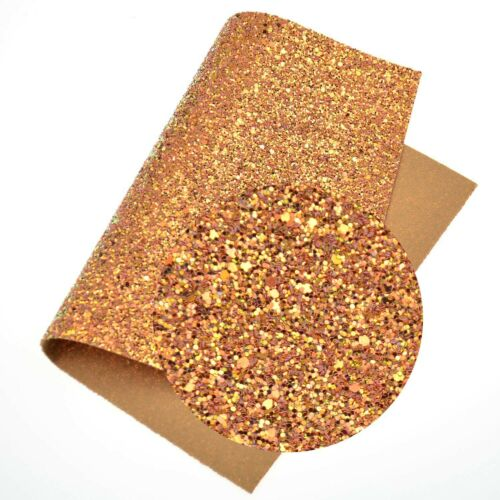 A4 Chunky Glitter Fabric Sheets Sparkly Prefect For Bows /& Crafts Art Craft DIY
