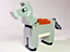 Lego Light Bluish Gray Donkey 21144 The Farm Cottage Minecraft Animal Minifigure