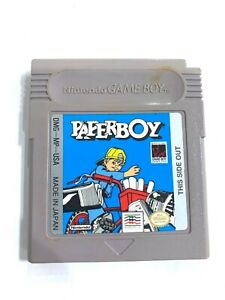 Paperboy Nintendo Game Boy - Tested - Working - Authentic!