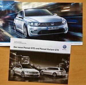1830-Prospekt-brochure-2015-Passat-GTE-218-PS-Technik-Preise-2016-Prices