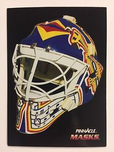 1992-93-CURTIS-JOSEPH-Pinnacle-Canadian-MASKS-St-Louis-Blues-264