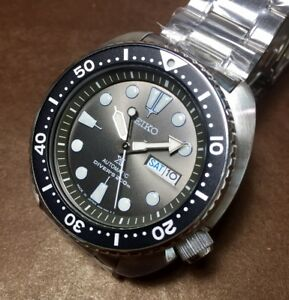 MADE-in-JAPAN-Grey-Dial-Turtle-SEIKO-Prospex-SRPC23J1-Automatic-Box-amp-Warranty