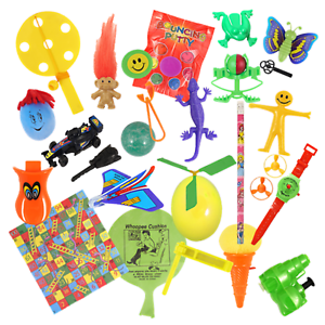 Details about 12 Children's Party Bag Fillers Boys Girls Kids Toy Gift  Prize Loot Lucky Dip