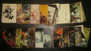 Comic Images 1993 #C3 Beyond The Grave Chrome Insert Card Frank Frazetta Series 2 Trading Card
