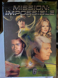 Mission: Impossible - The Complete 6th Season (DVD, 2012, 6-Disc Set) New/Sealed