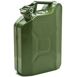 Vintage Army Style Jerrycan Jerrican w/ Locking Pin Petrol ...