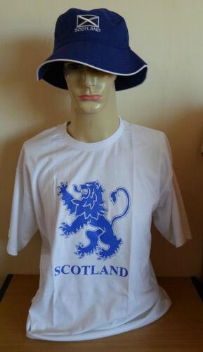 Scotland Flag//St.Andrews//Scottish Hat-Unisex Navy Blue Size LGE//XL.Great Gift