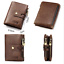Men-Women-Genuine-Leather-Cowhide-Trifold-Wallet-Credit-Card-ID-Holder-Purse-New thumbnail 4