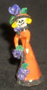 Day of The Dead Folk Art Katrina 1:12 Dollhouse Miniature Mexican Market KAT026