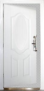 t r wohnungst r sicherheitst r stahlt r haust r innen rechts 86x205cm wei. Black Bedroom Furniture Sets. Home Design Ideas