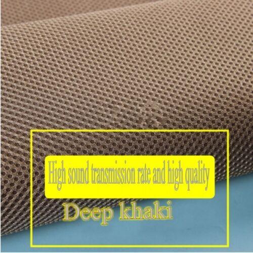 1*1.6M Speaker grille cloth Sound-permeable cloth Dustproof cloth Color optional