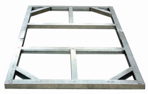 1 von 1 - Tepro 7404 Metall Unterkonstruktion für Gartenhäuser Haustyp 1a, Wood Typ B