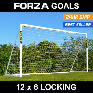 Forza but de foot | 12 ft (environ 3.66 m) X 6 ft (environ 1.83 m) | Mini-Soccer Goal | acier Objectif | Durable objectif  </span>