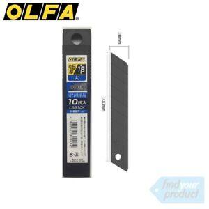 OLFA-ULTRA-SHARP-BLACK-18MM-BLADES-LBB10K-20Pk-HOBBY-STANLEY-UTILITY-KNIFE