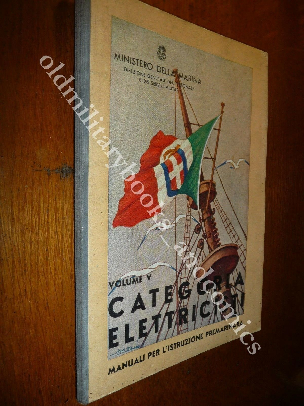 CATEGORIA ELETTRICISTI MANUALI PER L'ISTRUZIONE PREMARINARA 1936