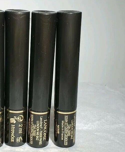 Lancome Hypnose Custom Wear Volume Mascara 2 ml x 3 -  Noir Hypnotic- Black