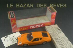 NOREV FRANCE. JET CAR métal. LIGIER JS 2.  REF: 818. + Boite. Série P.