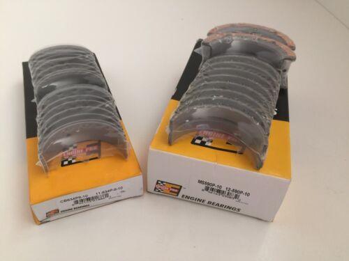 Engine Pro Rod /& Main Bearing Set sb sbf Ford 5.0 302 289 260 255 221