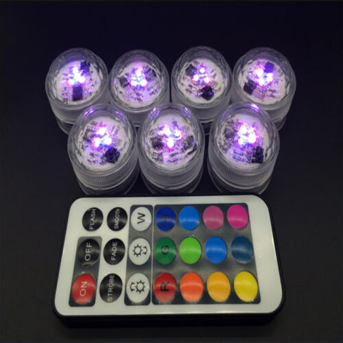 Lovely Change To The Battery Remote Discus LED Light Waterproof Candle Light
