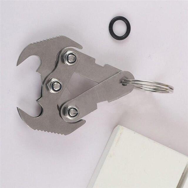 Multi-functional Stainless Steel Gravity Hook Survival Folding Grappling Sale