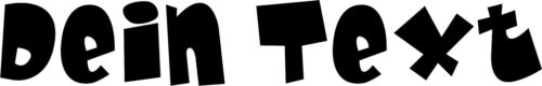 Bügelbilder Bügelbild Bügelmotive Dein Name Dein Text 25 cm Flex Folie