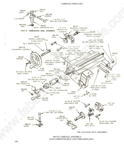 Atlas Lathe 618 /& No 16A Armature Lathe Instruction /& Parts Manual   *266 12A