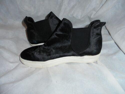 Eu Black Slip Leather Ankle Goatskin Zara Size On Women 37 4 Elastic Boot Uk 7Awgnq1n