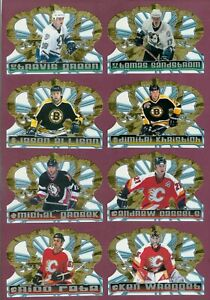 1998-99 PACIFIC CROWN ROYALE NHL HOCKEY CARD 1 TO 144 SEE LIST