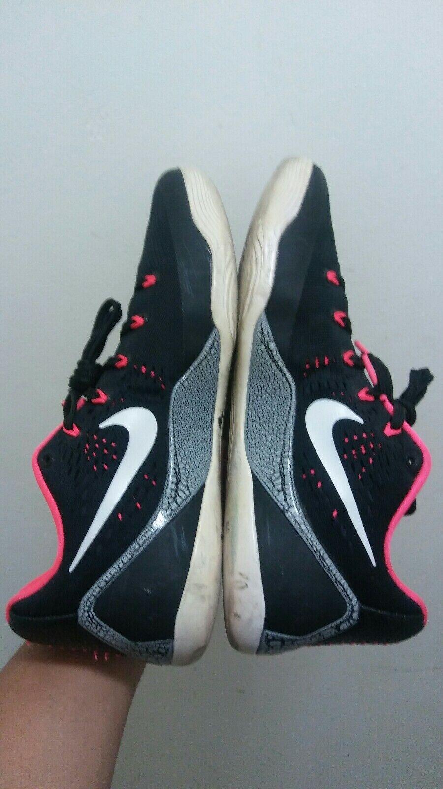 Nike Kobe 9 Em Low Laser Crimson Size 10.5