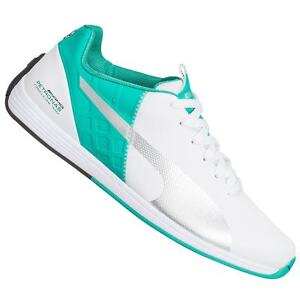 Puma Mercedes MAMGP evoSPEED 1.4 Mens Sneakers 305492 02 white-puma silver, UK 7 / EU 40.5
