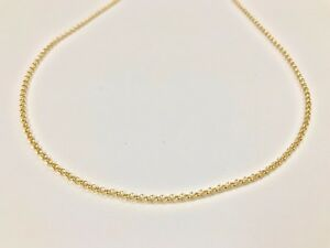Yellow-Gold-9ct-375-Belcher-Chain-18-034-20-034-22-034-24-034-Fully-Hallmarked