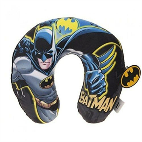Uneck Travel Cushion 32cm Kids Batman Printed Cushion Round Neck ow Soft