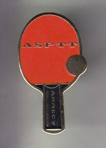RARE-PINS-PIN-039-S-SPORT-TENNIS-DE-TABLE-PING-PONG-AS-PTT-LA-POSTE-ANNECY-74-CZ