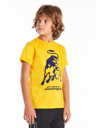 Yellow Lamborghini Big Bull Kid/'s T-Shirt