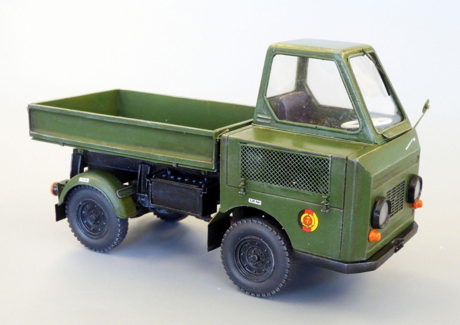 Plusmodel Multicar M-22 Modelo Kit Kit 1  3 5 Resina Art 458 Diorama