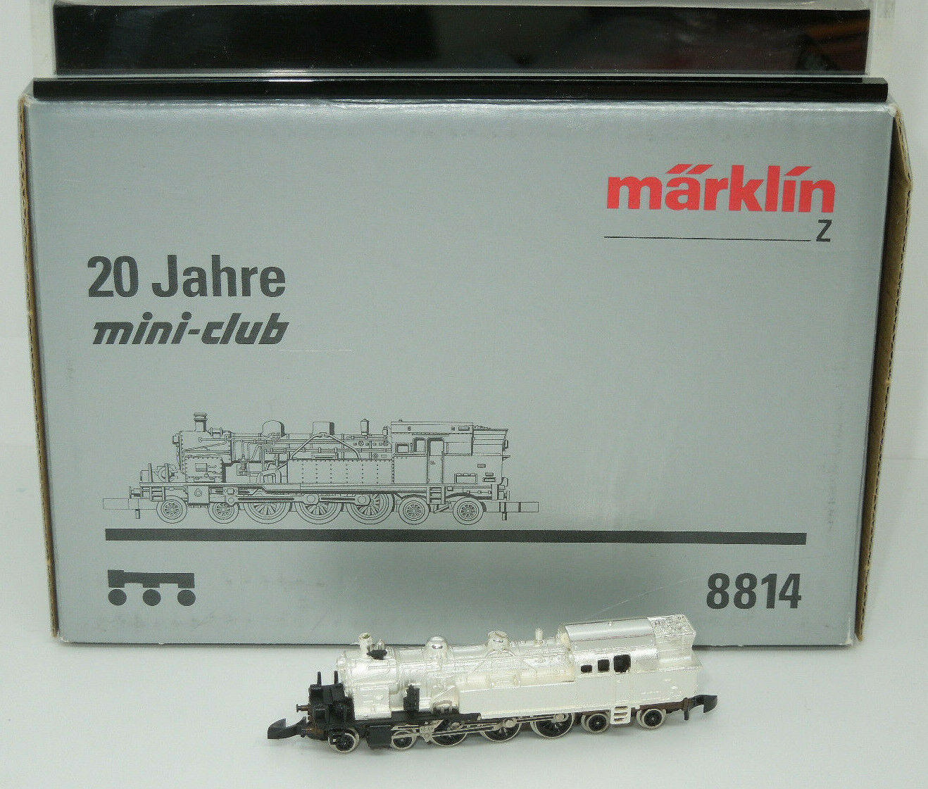 Märklin mini-club 8814 locomotiva BR 78 Sterling-argentoo