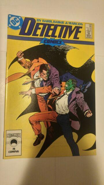 Detective Comics #581 December 1987 DC Comics Barr Baikie Marcos Batman