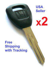 2 HD106 Honda Accord Civic Odyssey 98 99 00 01 02 Transponder Key  USA Seller