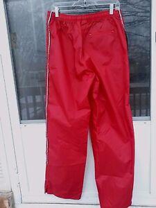 Nike Nylon rain wind Pants Track Running Womens M (8-10) UnLined ... 7719efcf00