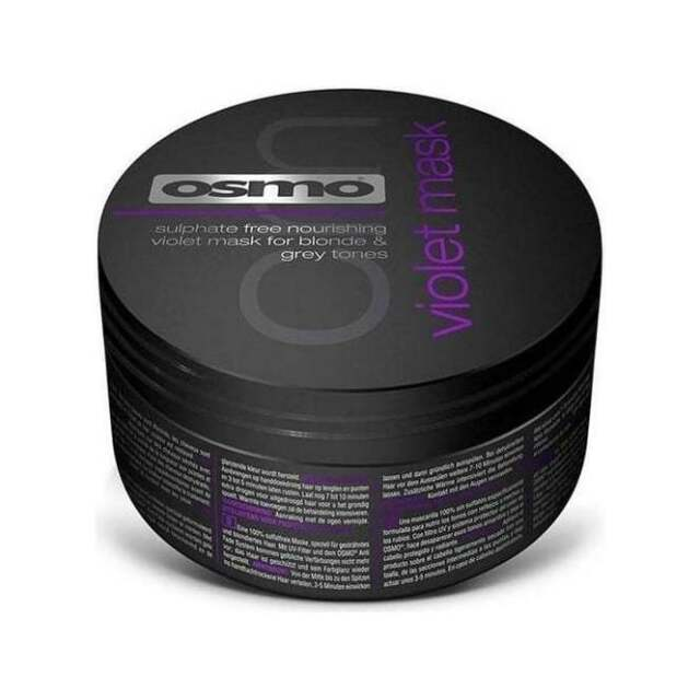 OSMO Silverising Violet Mask 100ml sulphate free mask that is designed