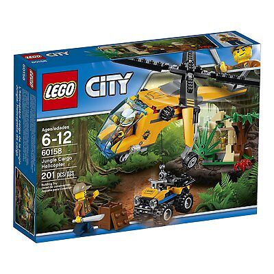 LEGO® City: Jungle Cargo Helicopter Building Play Set ...
