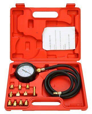 "500 PSI Automatic Transmission Engine Oil Pressure Tester 3/"" Gauge Diagnostic"