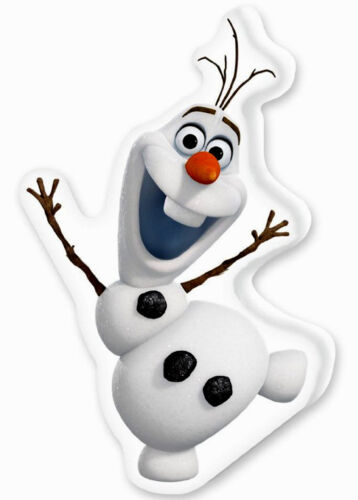 Disney Fée-Frozen la reine Olaf Nouveau//OVP contours Coussin Oreiller