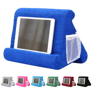 Grey Tablet Stand for Ipad Stand Mult-Angle Tablet,with Phone Holder Lap Stand Mobile Phone Holder