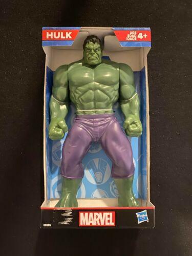 "Marvel HULK  9/"" Action Figure superhero toy and FREE spider-man bath bomb"