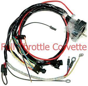 1968 corvette engine wiring harness new ebay rh ebay com 1958 Corvette Wiring Harness 1966 corvette wiring harnesses for sale